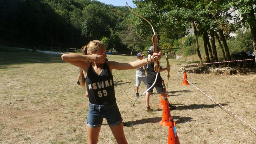 Tir à l'arc pour les pré-ados de 10 à 14 ans