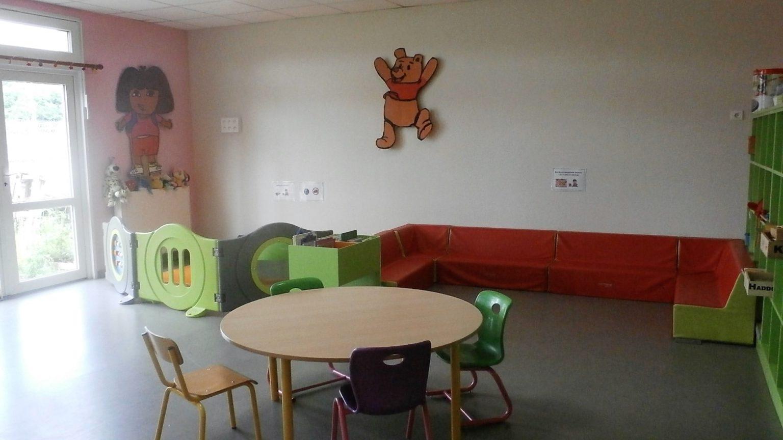 Salle d'activités du centre de loisirs